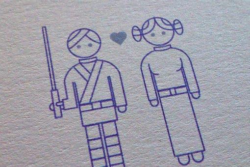 Invitación Star Wars