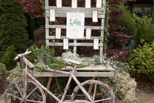 Papelería e invitación boda Kraft y verde