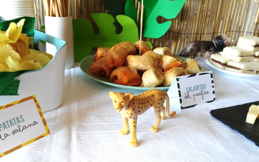 ZAZU Fiesta Safari de teo mesa dulce