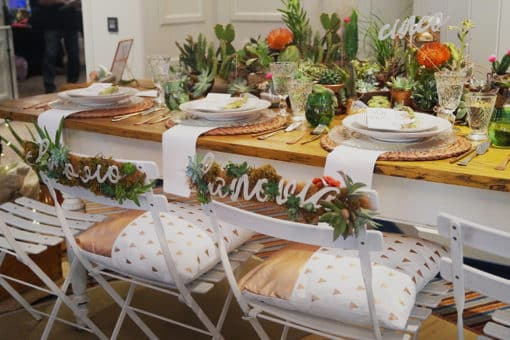 Feria Mi Boda Rocks Experience, una boda cactus