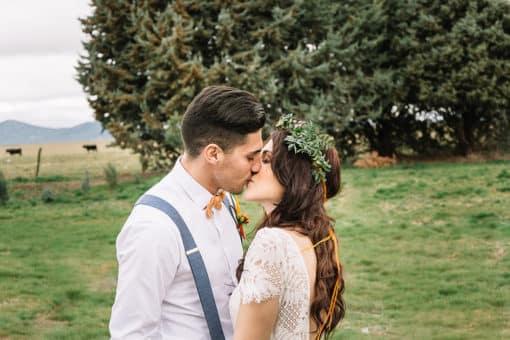 Editorial ALL YOU NEED IS COLOR, una boda naranja