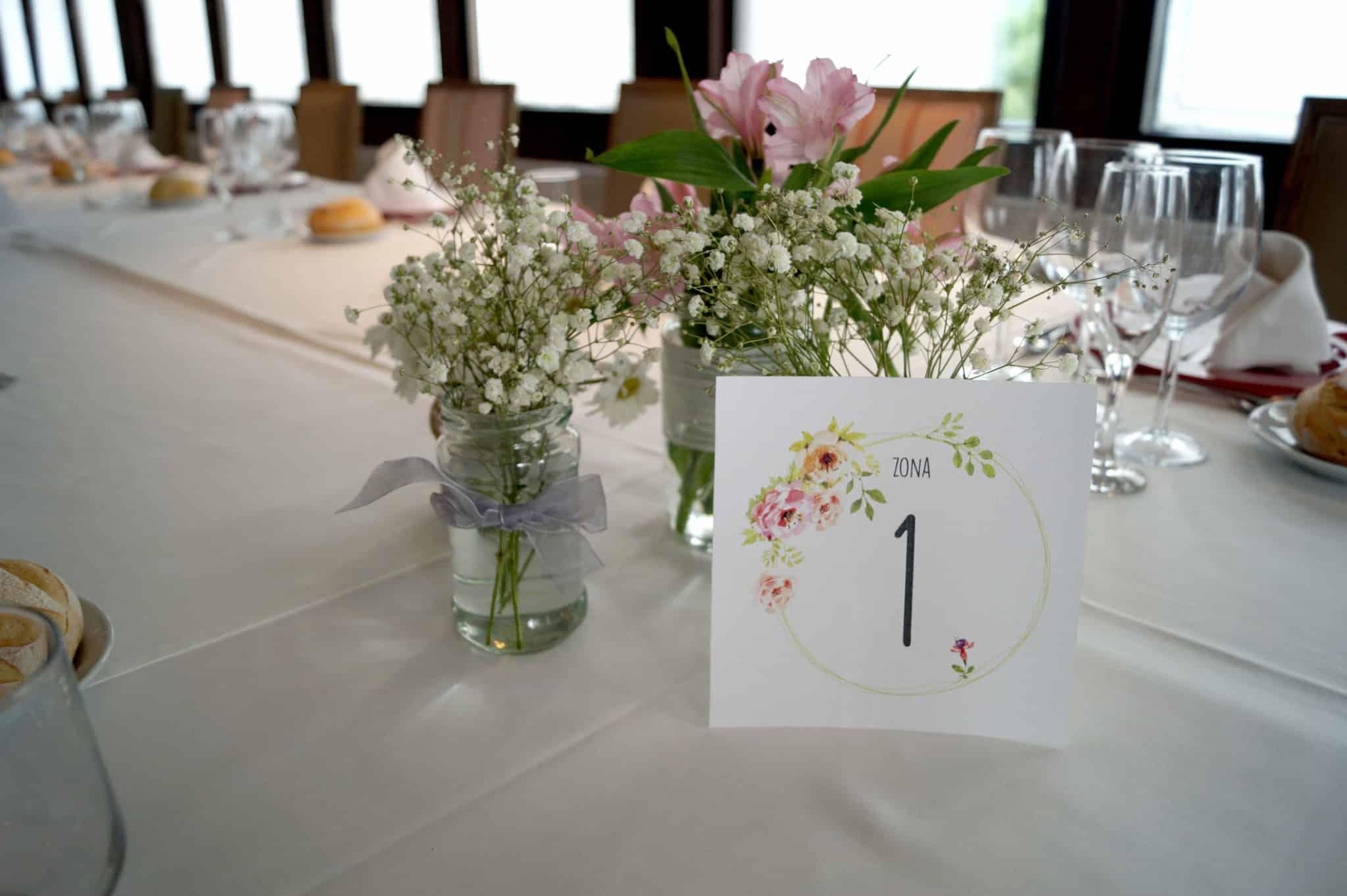 mesas boda rustica