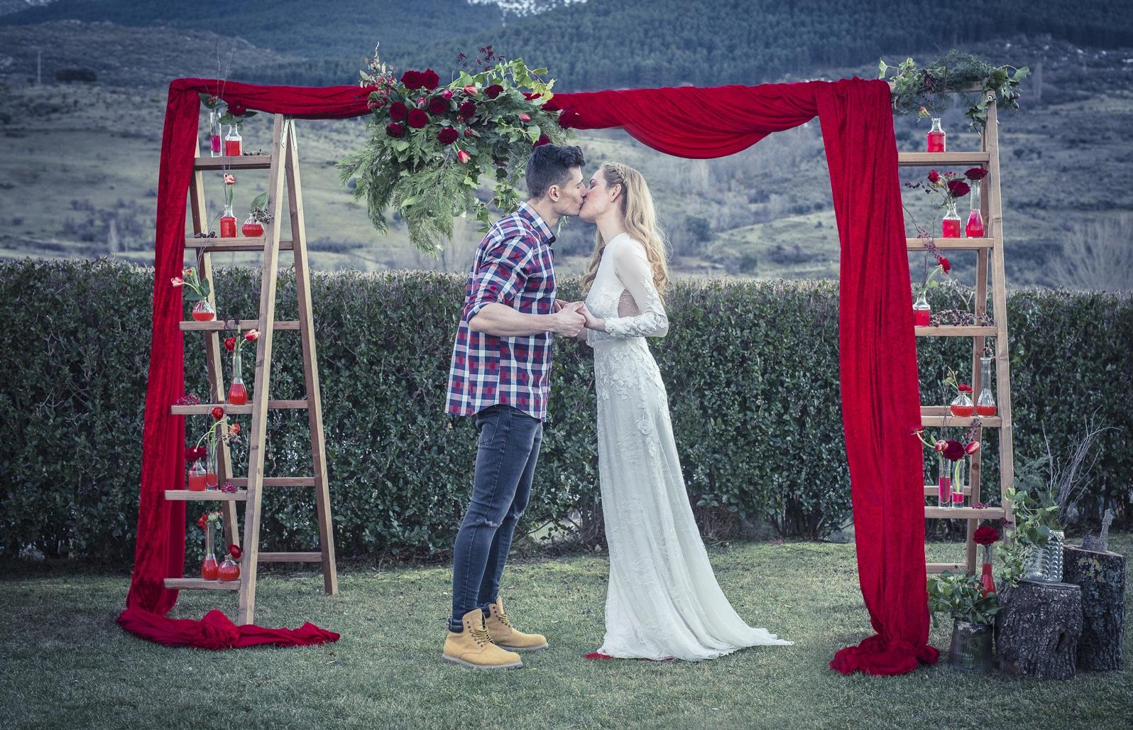 boda de cuento caperucita