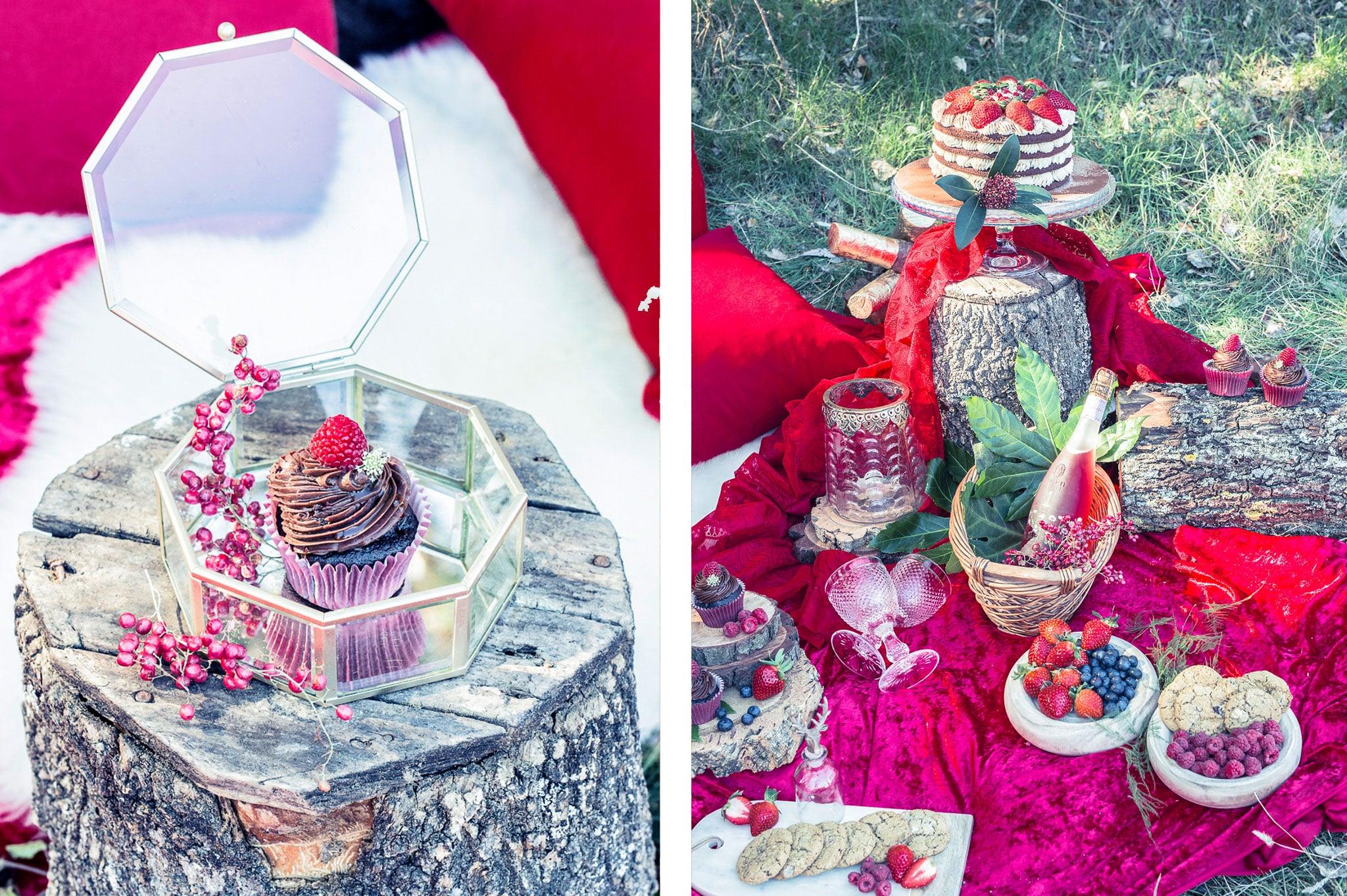 mesa decorada boda rustica
