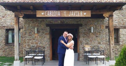 Carlota y Javier: Una boda en Segovia llena de detalles