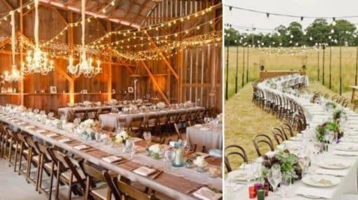 Consejos para encontrar el espacio perfecto para tu boda