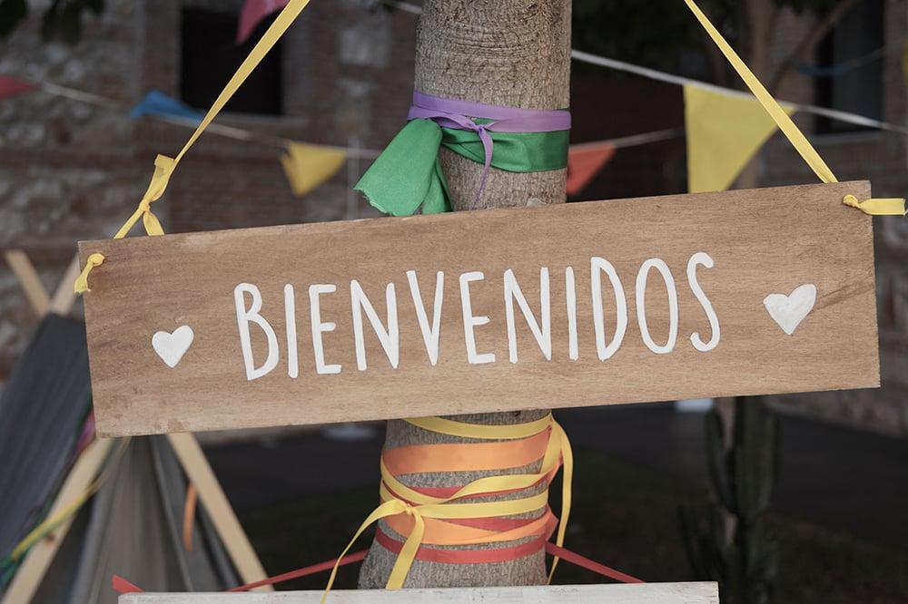 cartel instagram boda parador de alcala de henares BodaFest Ana y Juanma boda festival