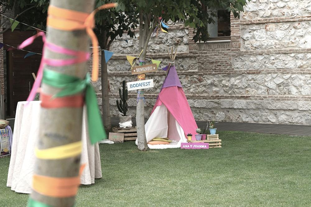 tipi boda parador de alcala de henares BodaFest Ana y Juanma boda festival