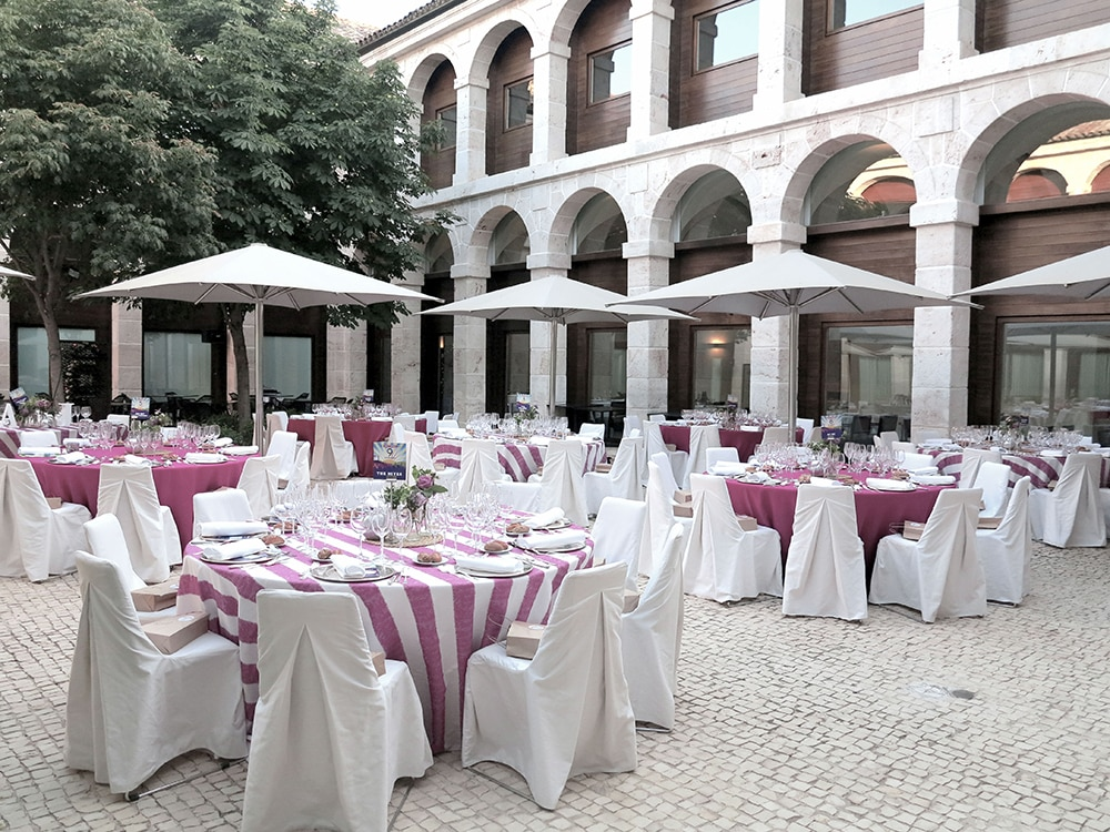 boda parador de alcala de henares BodaFest Ana y Juanma boda festival