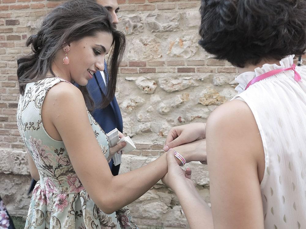 pulsera BodaFest Ana y Juanma foto ernesto villalba boda festival