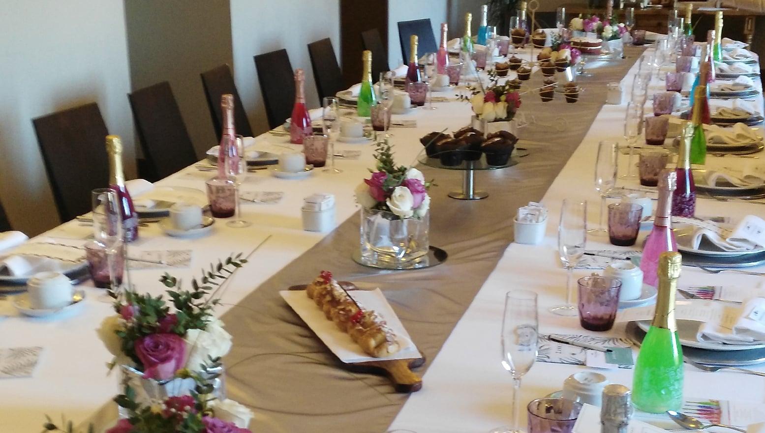 Mesa del Encuentro Wedding Club Zankyou al que asistió Eventos ZAZU