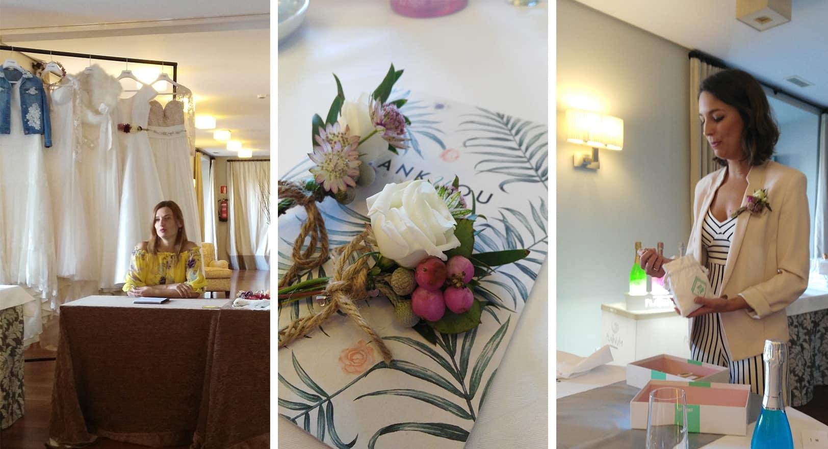 Detalle mesa del Encuentro Wedding Club Zankyou al que asistió Eventos ZAZU
