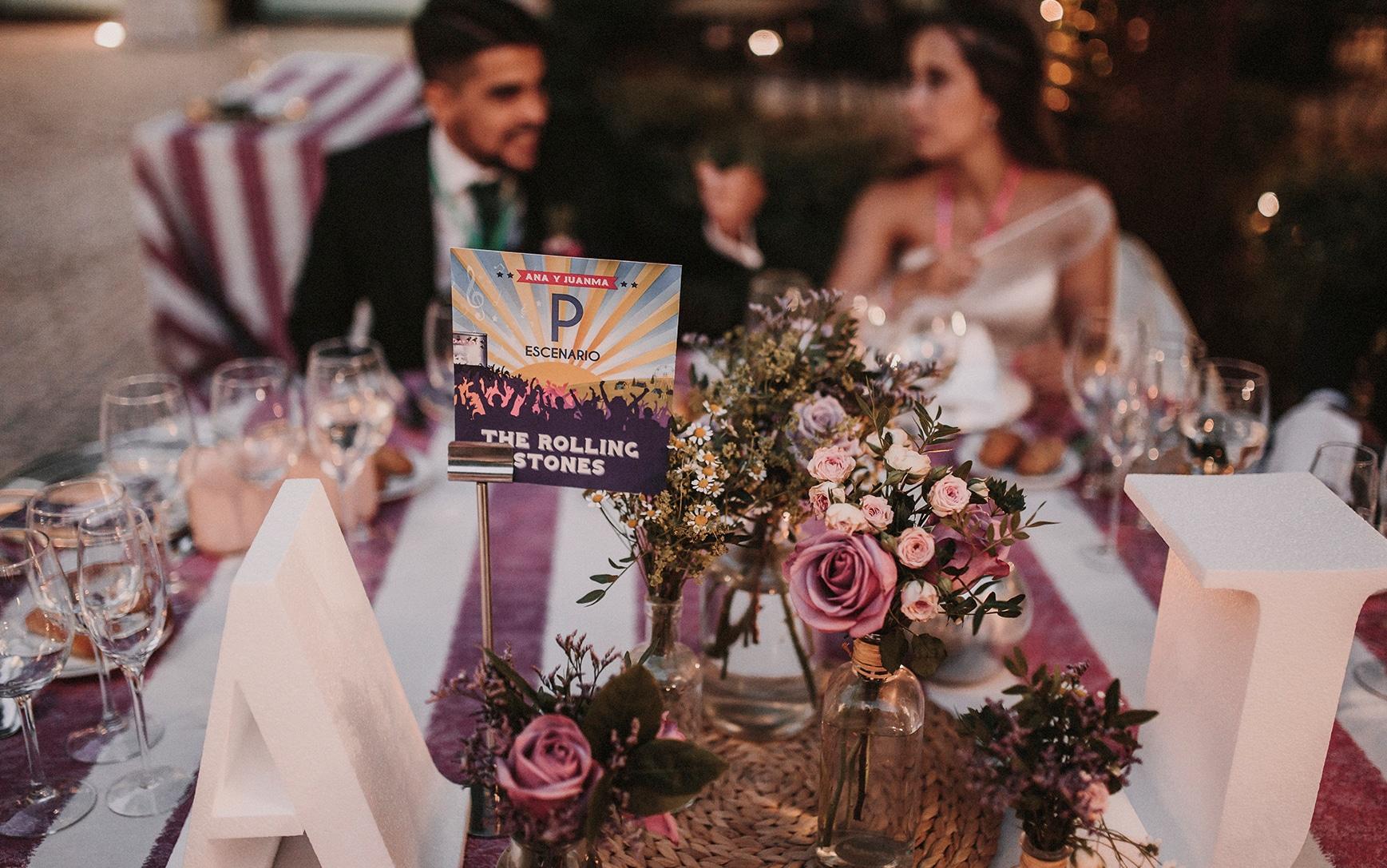 una boda festival