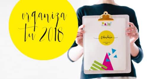 Calendario ZAZU 2018 para organizar tu boda
