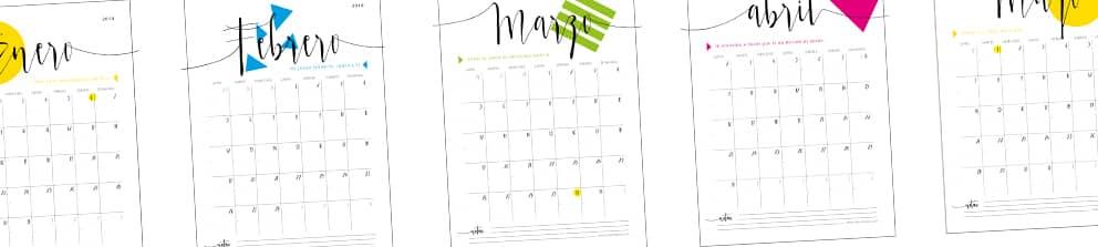 calendario para organizar la boda