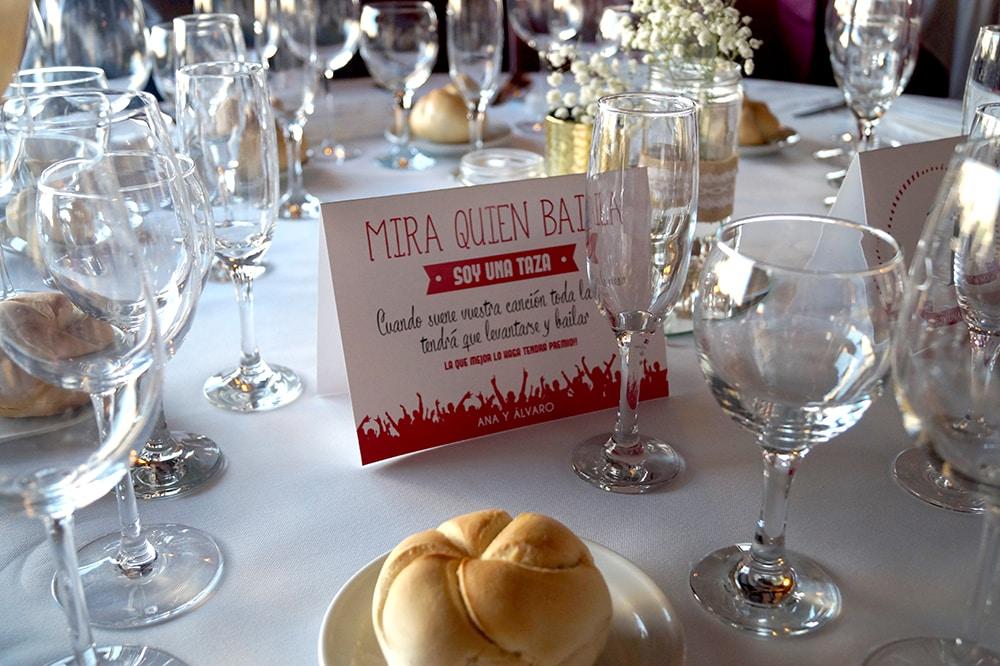concurso Mira quien baila boda Decoración centros de mesa ZAZU-boda-divertida-en-rojo-Segovia UNA BODA DIVERTIDA EN SEGOVIA