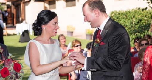 Ana y Álvaro, una boda divertida en Segovia (I)