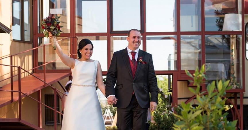 boda divertida en Segovia