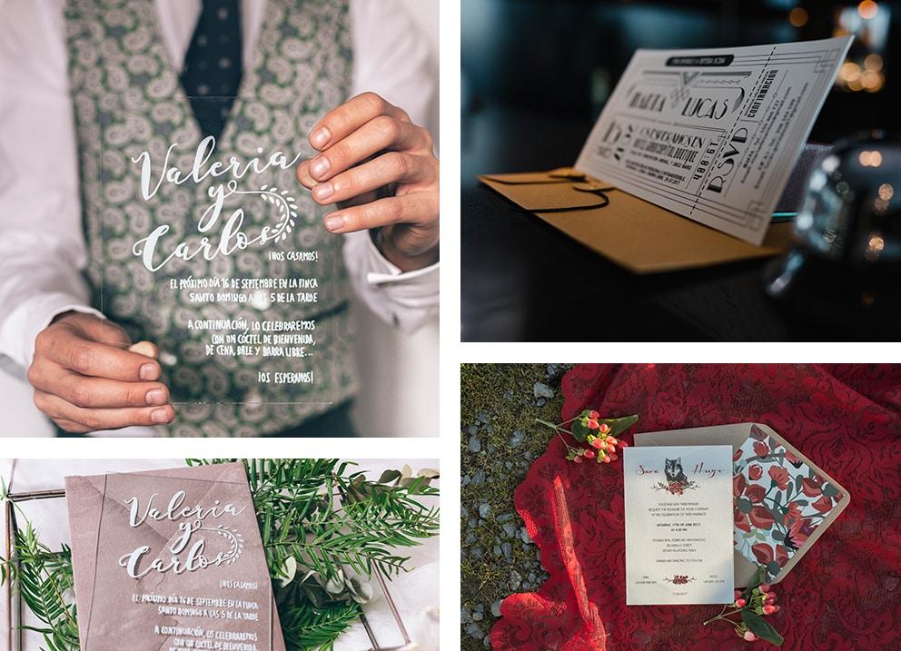 ideas diseños ZAZU Cuantas invitaciones de boda necesito