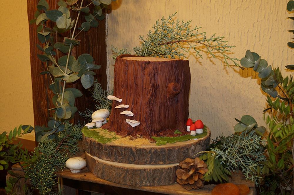 decoracion madera boda rustica