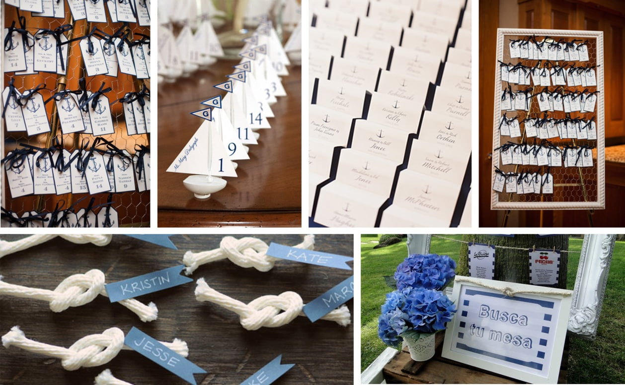 ideas para una boda en la playa Seating