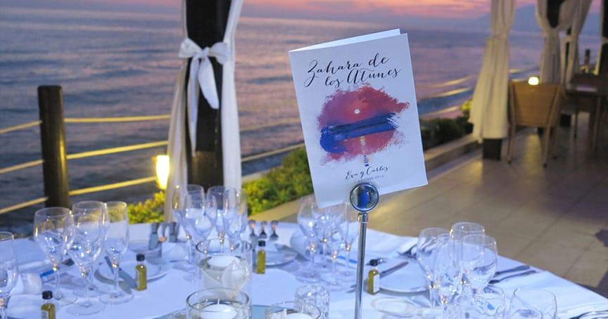 ideas para una boda en la playa detalles