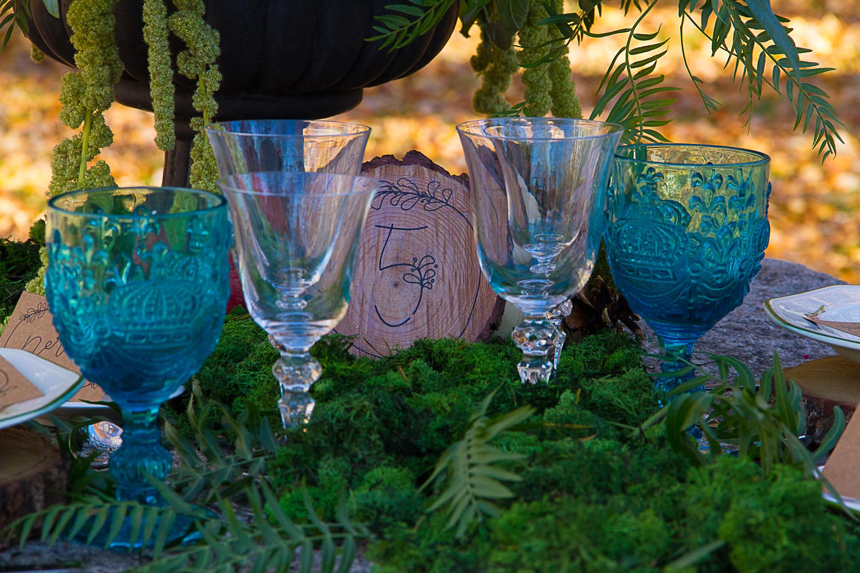 mesa mesero boda rustica
