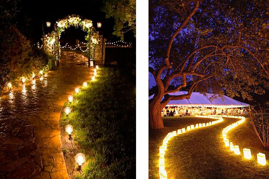 caminos de luz bodas