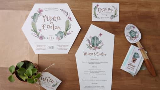 Papelería a juego para el tu boda 2 diseño_eventos zazu