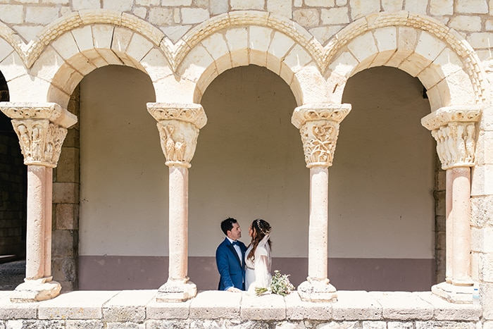 Boda rústica en Segovia Iglesia Duratón