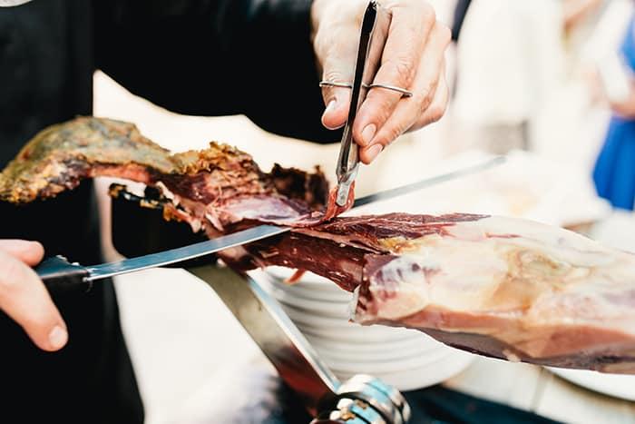 cortador jamon boda en segovia