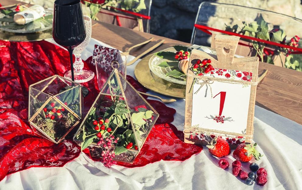 meseros de boda