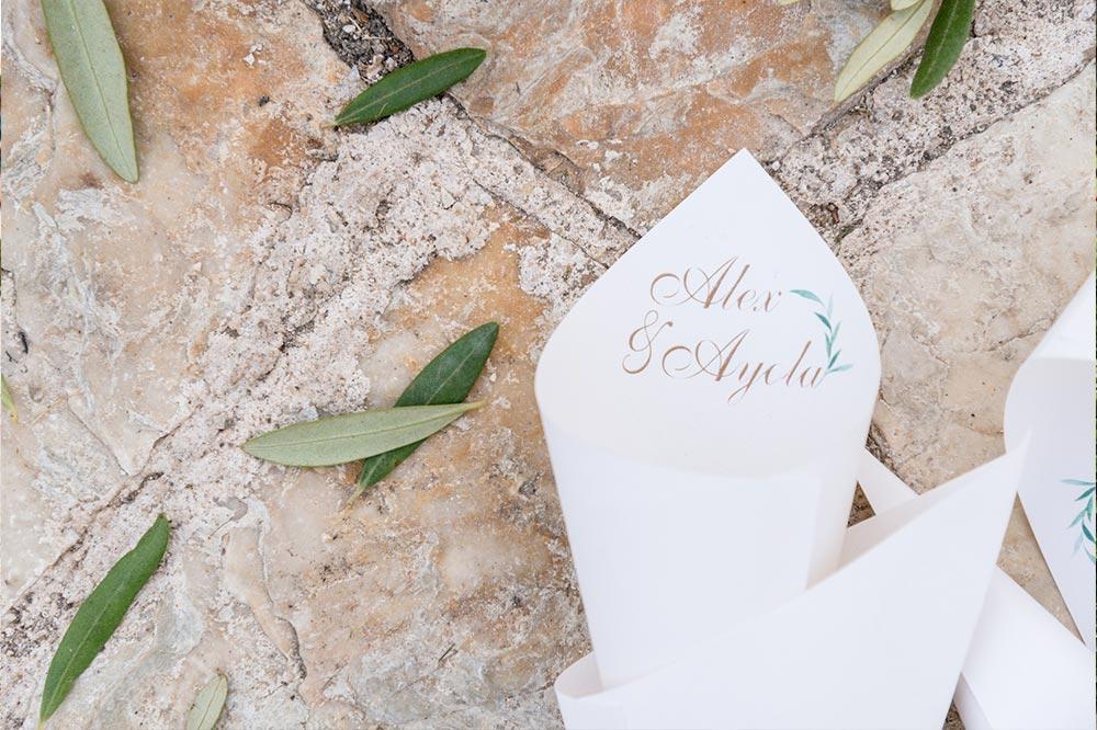detalle cono boda-elegante-y-moderna-en-dorado010