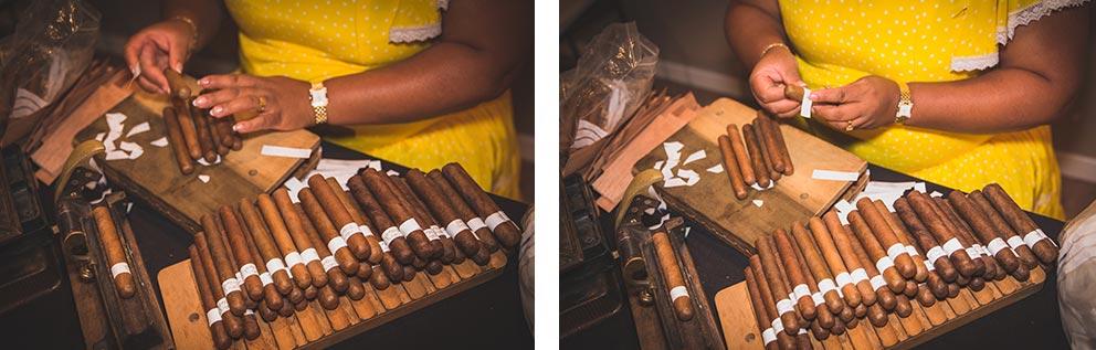 Lia liando puros en boda-elegante-y-moderna-en-dorado016 rincón de puros