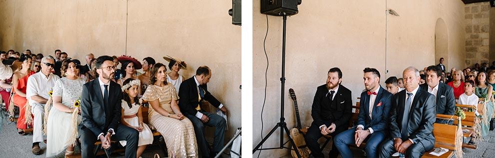 ceremonia boda-girasoles-amarillo-Segovia17