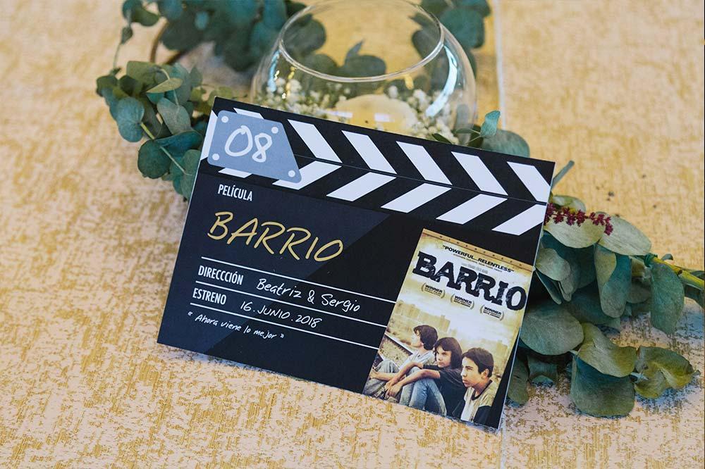 centro de mesa claqueta cine decoración1-boda-tematica-cine-ByS4