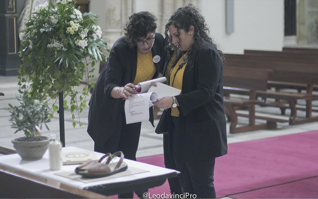 Coordinación wedding planner iglesia boda-con decoración de olivos chinchón