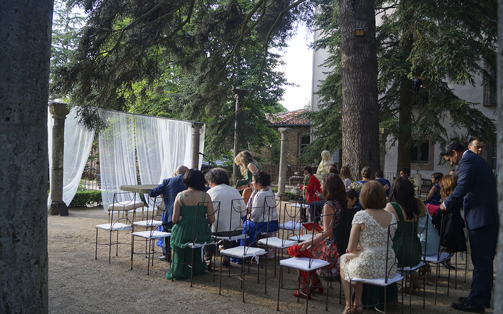 Ceremonia Boda Palacio CarlosIII Decoración frutal